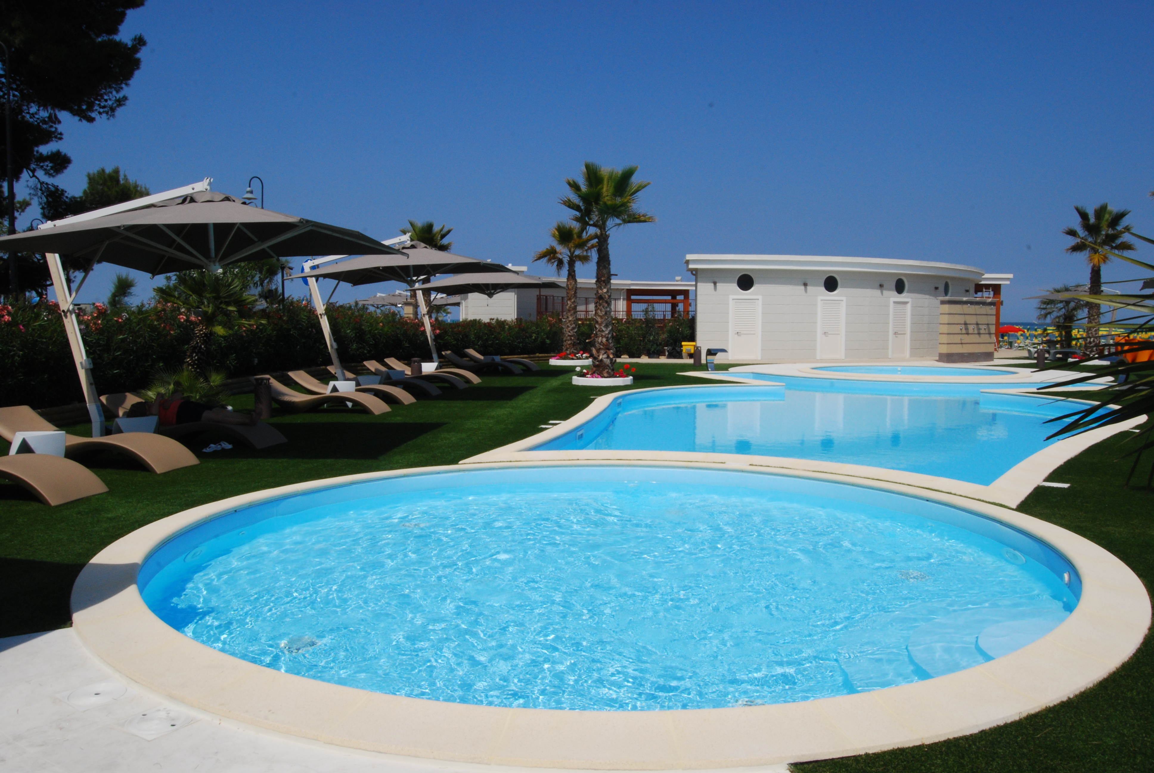 sporting village beach - arena in spiaggia