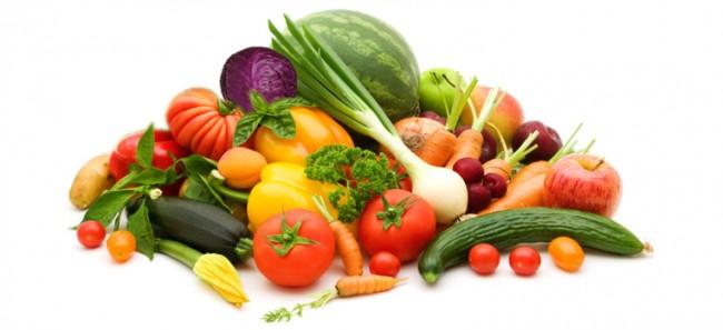 verdura e frutta estivi