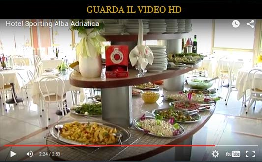 video HD dell'Hotel Sporting, Hotel Alba Adriatica